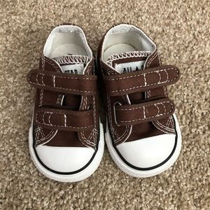Converse All Star Brown Velcro Sneakers